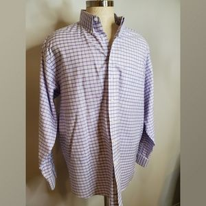 Roundtree and Yorke Fitted No Iron Ez Wash Shirt